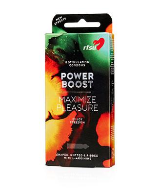 RFSU Power Boost (forsterker ereksjonen), 8 stk.