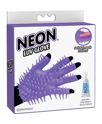 Neon Luv Glove Massasjehanske