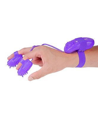 Neon Magic Touch Fingervibratorer