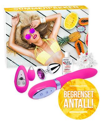 Sommerpakken fra Nytelse.no Gavesett