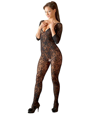 Floral Catsuit - Mandy Mystery Catsuit og bodystocking