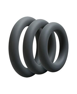 OptiMALE 3 stk. C-Ring Sett Penisringer Penisring