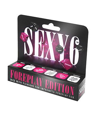 Sexy 6 - Foreplay Erotiske Terninger