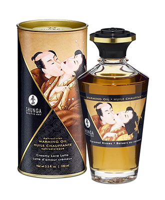 Shunga Aphrodisiac Warming Oil Caramel Kisses