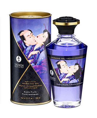 Shunga Aphrodisiac Warming Oil Exotic Fruits