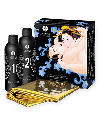 Shunga Body Slide Tantrisk Gelemassasje - Exotic Fruits