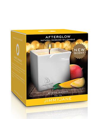 JimmyJane Afterglow Massasjelys - Mystic Mango Massasjeoljer og -lys