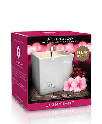 JimmyJane Afterglow Massasjelys - Berry Blossom