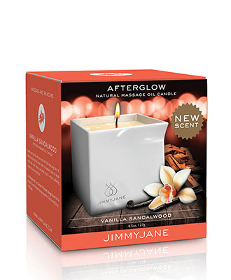 JimmyJane Afterglow Massasjelys - Vanilla Sandalwood