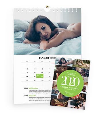 Erotisk Aktivitetskalender Nytelse.no 2020 Gavesett