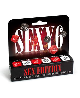 Sexy 6 - Sex Edition Erotiske Terninger
