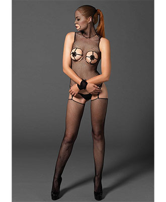 Leg Avenue Kink - Fishnet Bodystocking