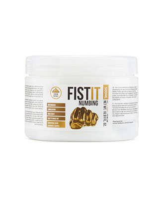 Fist It Numbing Glidemiddel 500 ml