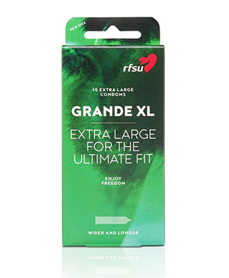 RFSU Grande XL (ekstra store), 15 stk.