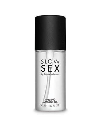Varmende Massasjeolje - Slow Sex