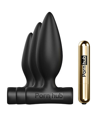 Pornhub Trilogy Anal Training Kit