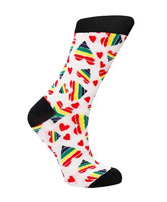 Sexy Socks Happy Hearts sokker