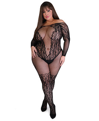 Fifty Shades of Gray - Captivate Plus Size Bodystocking