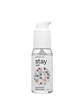 Stay Wet vannbasert glidemiddel 50 ml
