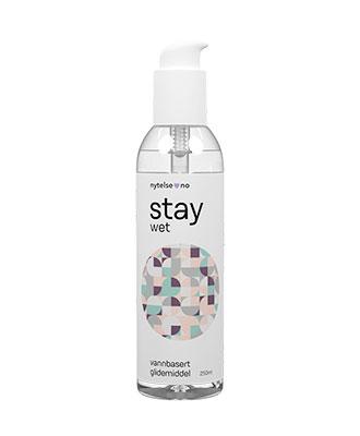Stay Wet vannbasert glidemiddel 250 ml