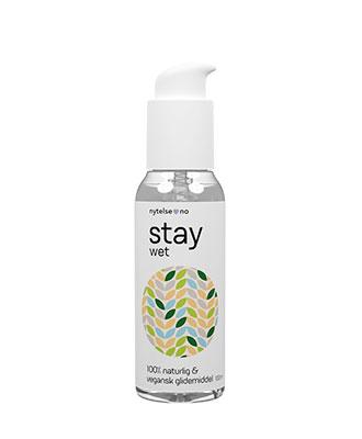 Stay Wet 100% naturlig vannbasert glidemiddel 100 ml