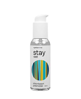 Stay Wet silikonbasert glidemiddel 100 ml