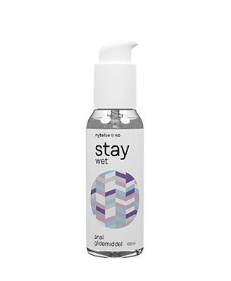 Stay Wet Anal vannbasert glidemiddel 100 ml