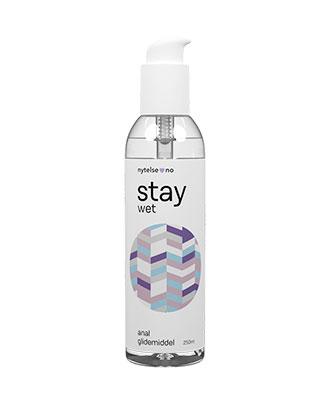 Stay Wet Anal vannbasert glidemiddel 250 ml