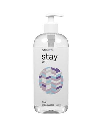 Stay Wet Anal vannbasert glidemiddel 1000 ml
