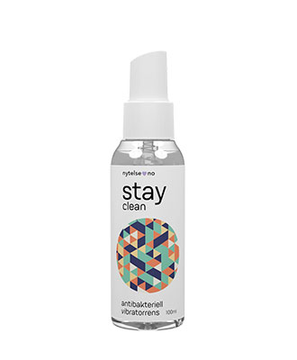 Stay Clean antibakteriell vibratorrens 100 ml