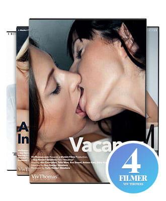 MetArt Films: Lesbian Senses 4 pk. DVD