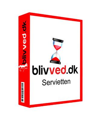 Blivved Servietten (8 pk.)