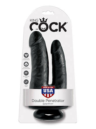 King Cock - Double Penetrator Dildo