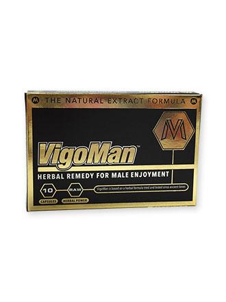 VigoMan Potenspille (10 stk) Potens og sexlyst