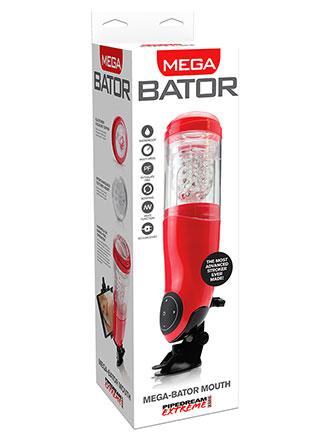 Mega-Bator for menn - Mouth Herrevibrator
