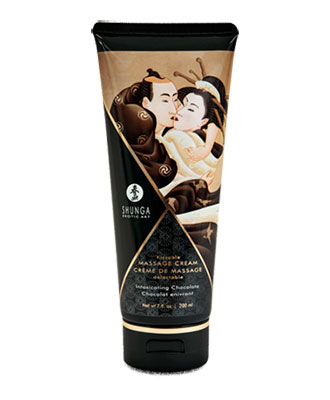 Shunga Kissable Massage Cream - Intoxicating Chocolate 200 ml