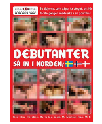 Debutanter så in i Norden