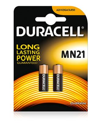Batteri - Duracell MN21 (2 pk)