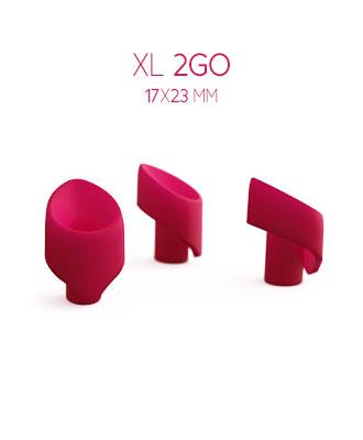 Womanizer 2GO Silikonhette 3 pk - XL Klitorisvibrator