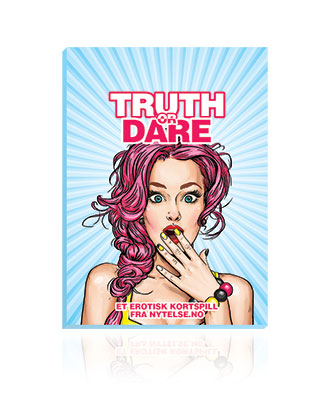 Truth or Dare Kortspill (Norsk)