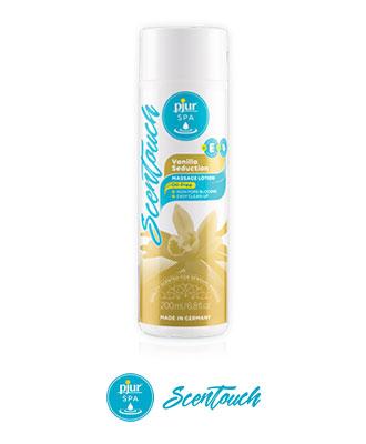 pjur SPA ScenTouch Vanilla Seduction 200 ml Massasjeoljer og -lys