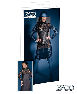 Zado Lace Leather Jacket