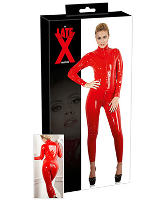 The Late X Collection - Red Catsuit