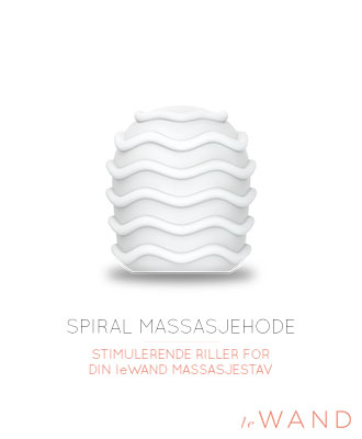 Le Wand Spiral Cover Massasjehode Massasjestaver