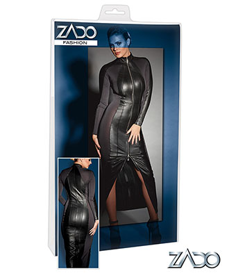 Zado Long Leather Dress