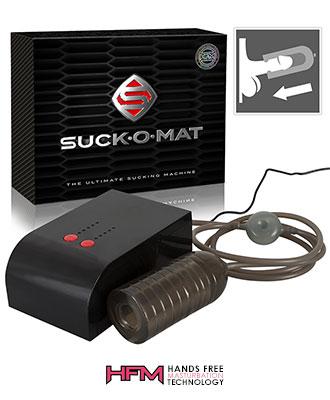 Suck-O-Mat - The Ultimate Sucking Machine Herrevibrator