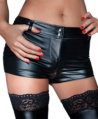 Noir Handmade Wetlook Hotpants