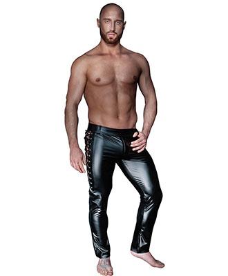 Noir Handmade Wetlook Bukse