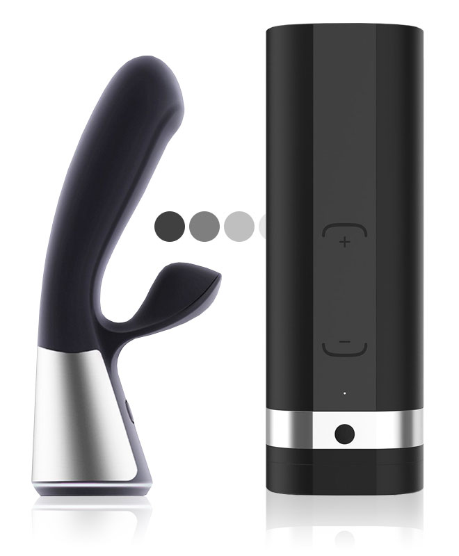 OhMiBod Fuse Powered By KIIROO Interaktiv Vibrator