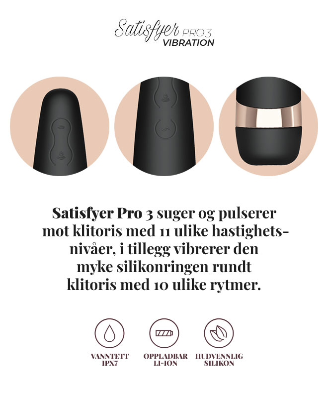 Satisfyer Pro 3 Vibration